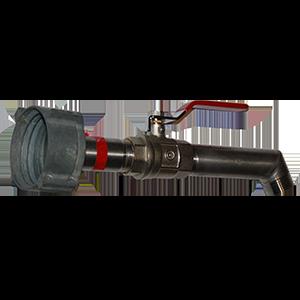 Kit robinet long 3/4 avec récupération de votre écrou existant